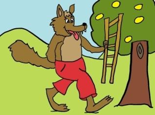 Cuentos-infantiles-El-lobo-y-la-escalera1